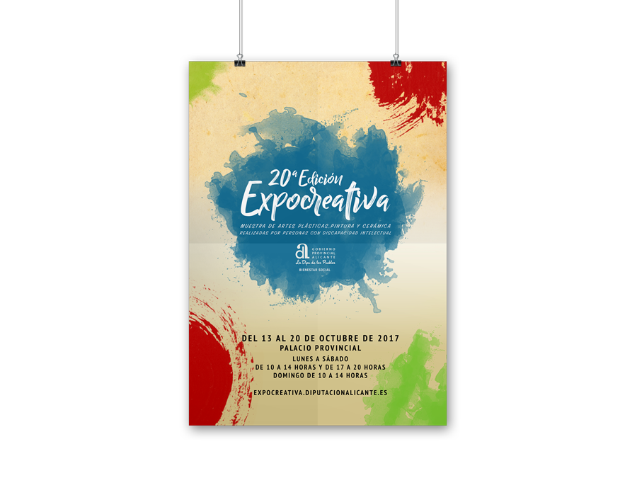 Poster A3 Expocreativa 2017