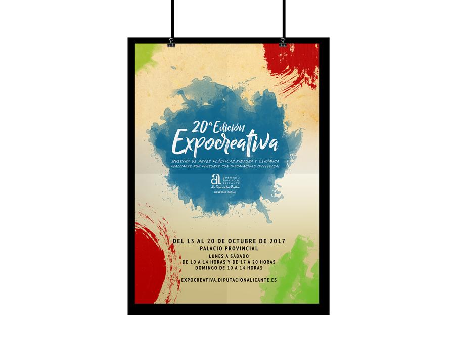 Poster A3 Expocreativa 2017