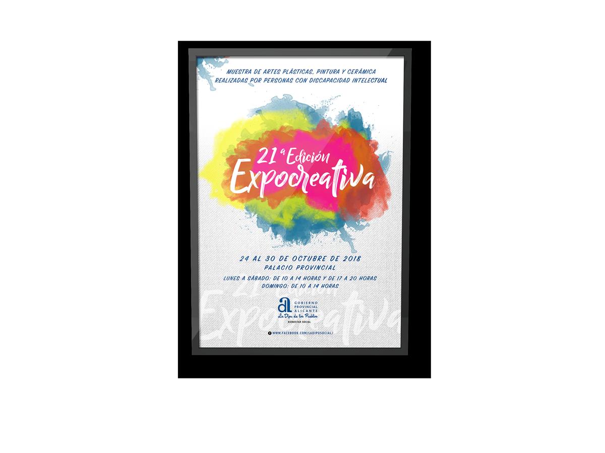 Poster Expocreativa 2018